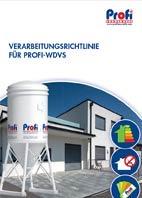Profi WDVS-Verarbeitungsrichtlinie